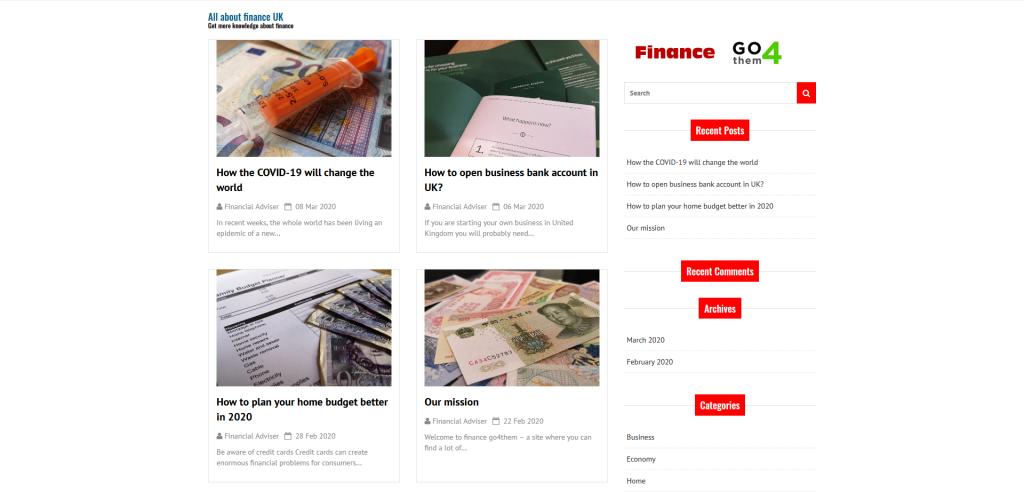 Best financial blog in UK